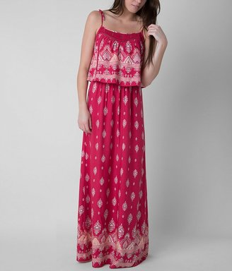 Fire Printed Maxi Dress $42.95 thestylecure.com