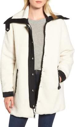Sam Edelman Berber Reversible Coat