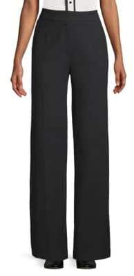 Escada High-Rise Wide-Leg Pants