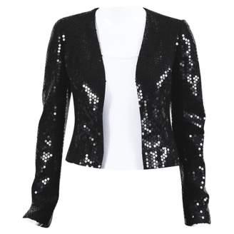 Chanel Black Glitter Jackets