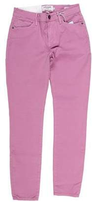 Frame Mid-Rise Skinny Pants w/ Tags