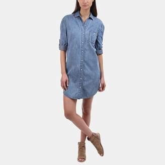 Rag & Bone Chambray Shirt Dress in Medium Indigo