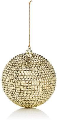 Gold Eagle USA Studded Ball Ornament