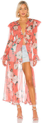 Leone we are Marlowe Maxi Kimono