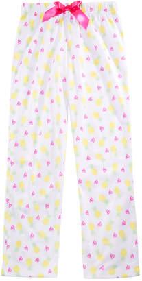LTB Max & Olivia Little & Big Girls Pineapple-Print Pajama Pants