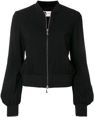 Lanvin puff sleeve bomber jacket