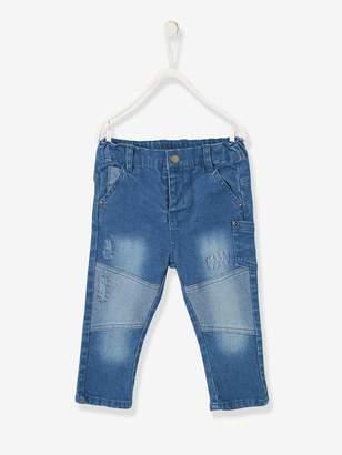 ba1a8dfbd Vertbaudet Slim Leg Denim Jeans for Baby Boys