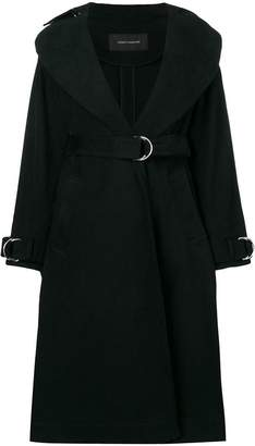 Cédric Charlier belted midi trench