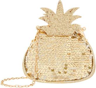 Monsoon Sweet Sequin Pineapple Bag