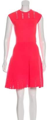 Ted Baker Laser Cut Cocktail Dress Pink Laser Cut Cocktail Dress