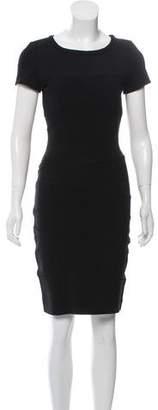 Diane von Furstenberg Short Sleeve Bodycon Dress