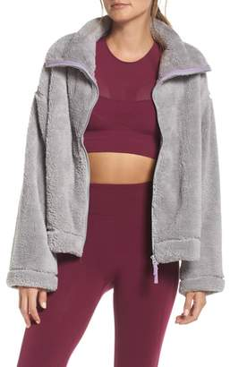 Free People Dazed Fleece Jacket