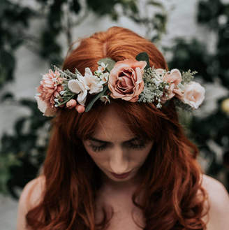 Luna and Wild Adele Flower Crown