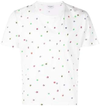 Saint Laurent Short sleeve star T-shirt