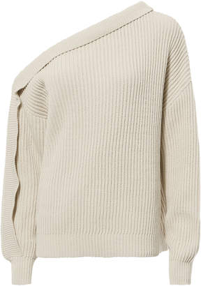 Designers Remix Curtis One Shoulder Sweater