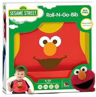Sesame Street Molto Elmo Silicone Bib Sesame Street, Red