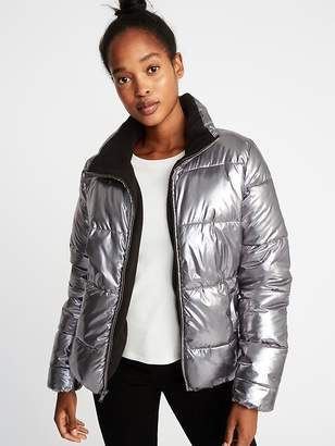 Old Navy Metallic Frost-Free Jacket for Women