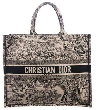 26f5b88064d Christian Dior 2018 Toile de Jouy Book Tote