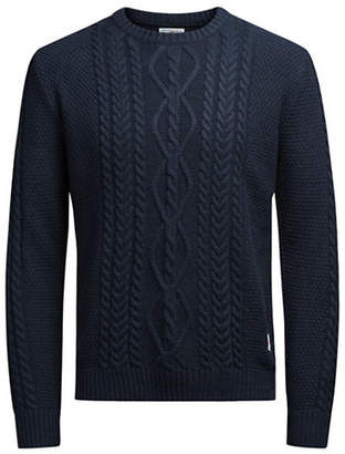 Jack and Jones Cable Knit Sweater