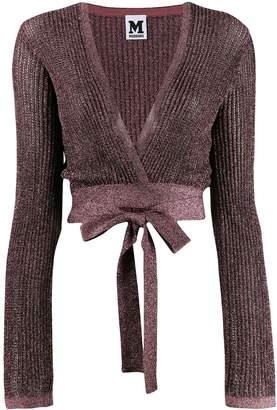 M Missoni knit shoulder shrug top