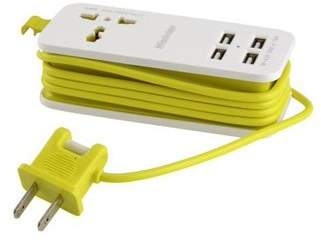 AGPTEK 4-Port USB r Portable Travel Outlets with Universal Plugs