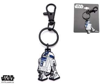 Star Wars Metal R2-D2 with Black IP Key Chain