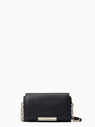 30d6fc8a3 Kate Spade Make It Mine Soft-leather Camila, Black