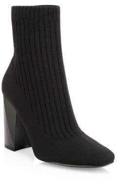 KENDALL + KYLIE Tina Knit Ankle Boots