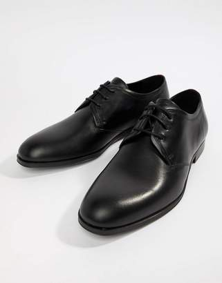 HUGO Boheme Leather Derby Shoe in Black