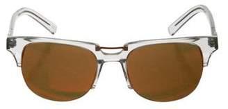 Kenzo Mirrored Square Sunglasses