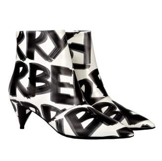 Burberry Printed Ankle Boots