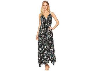 Kate Spade Playa Carmen Halter Maxi Dress Cover-Up Women's Swimwear