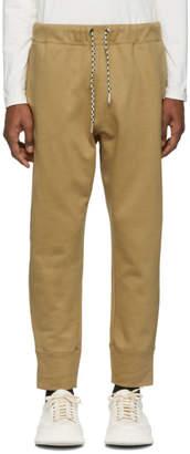 Jil Sander Beige Jersey Lounge Pants