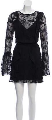 Zac Posen Lace Mini Dress