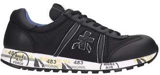 Premiata Lucy Sneakers In Black Nylon
