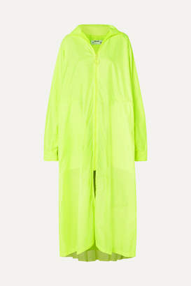 Off-White OffWhite - Oversized Neon Shell Coat