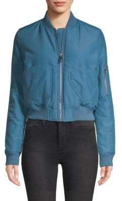 Love Moschino Tonal Patchwork Cropped Jacket