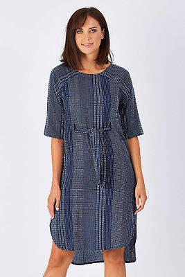 Talisman Designs NEW Womens Knee Length Dresses Palmwood Tunic Dress Riverside