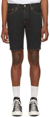 Levi's Levis Black Denim 511 Slim Shorts