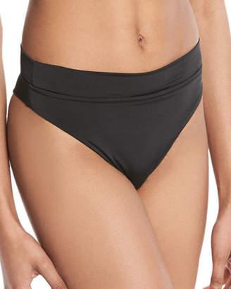 Seafolly Rio High-Waist Swim Bikini Bottoms