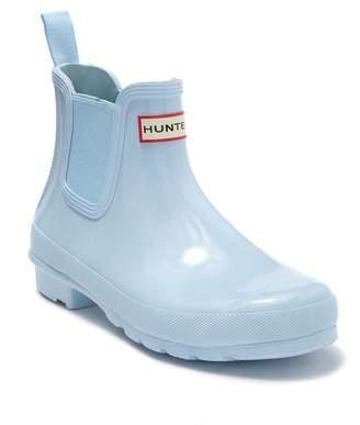 Hunter Gloss Waterproof Chelsea Boot (Women)