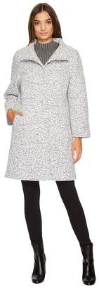 Vince Camuto Novelty Wool Coat N1341 Women's Coat