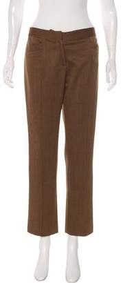 Loro Piana Wool Mid-Rise Pants