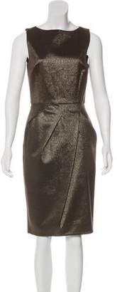 Michael Kors Sleeveless Metallic Dress