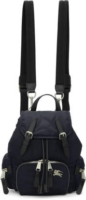 Burberry Navy Small Puffer Crossbody Backpack