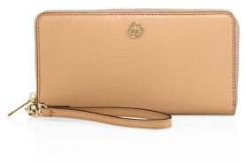 Tory Burch Tory Burch Parker Zip Leather Continental Wallet