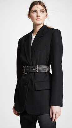 Alexander Wang Blazer with Studded Belt Loops