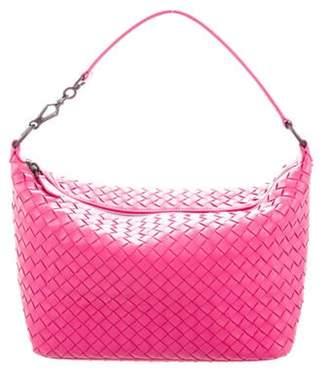 Bottega Veneta Small Intrecciato Shoulder Bag Pink Small Intrecciato Shoulder Bag
