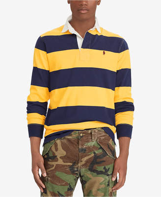 Polo Ralph Lauren Men's Classic Fit Cotton Iconic Rugby Shirt