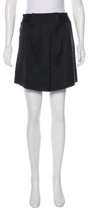 See by Chloe Wool-Trimmed Mini Skirt